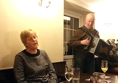 Barbara and Pete Snape from Chorley