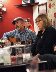 Paul Mason and Sally Rowlands