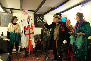 Whitby Flash Mob Mummers